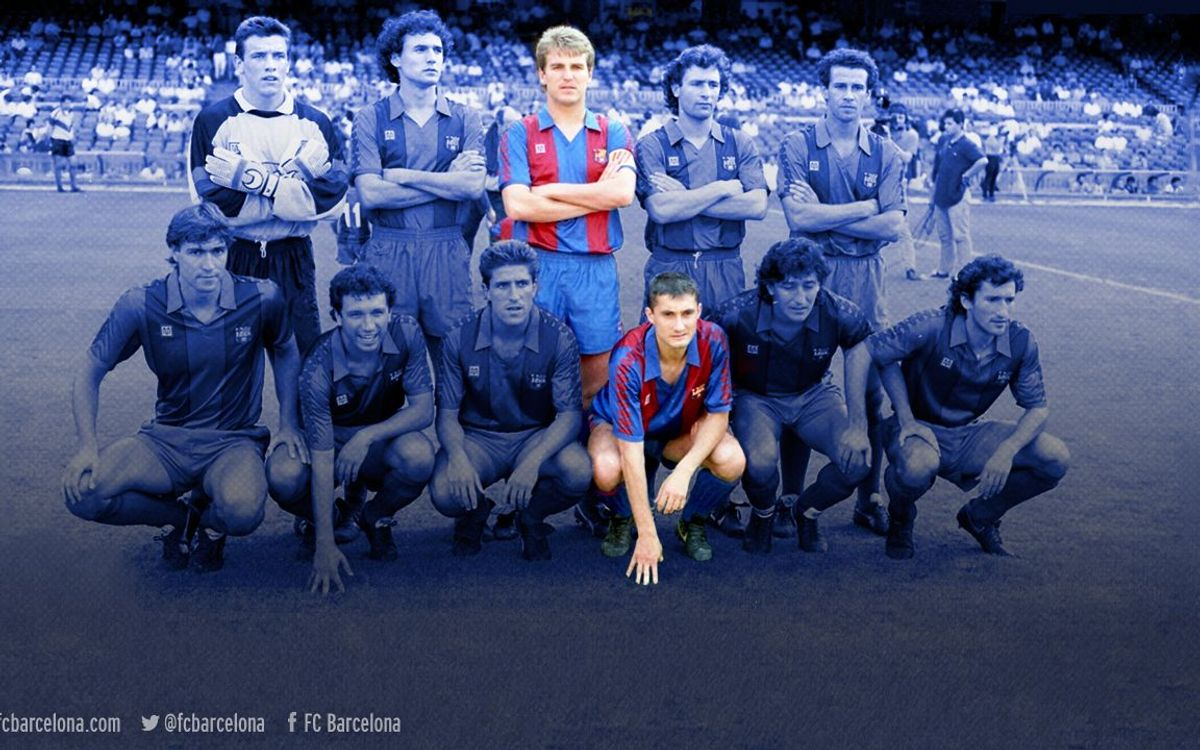The two seasons Robert and Valverde spent together at FC Barcelona