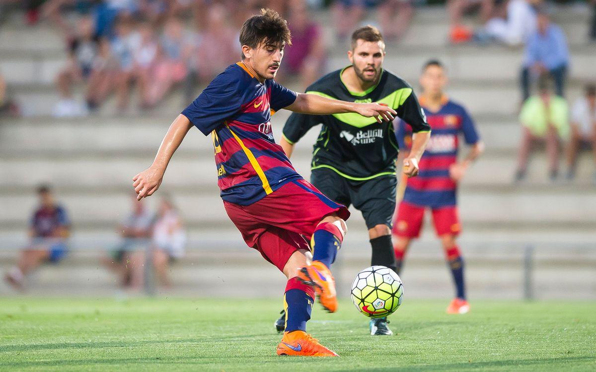 Joel Huertas, cedit al Lleida Esportiu