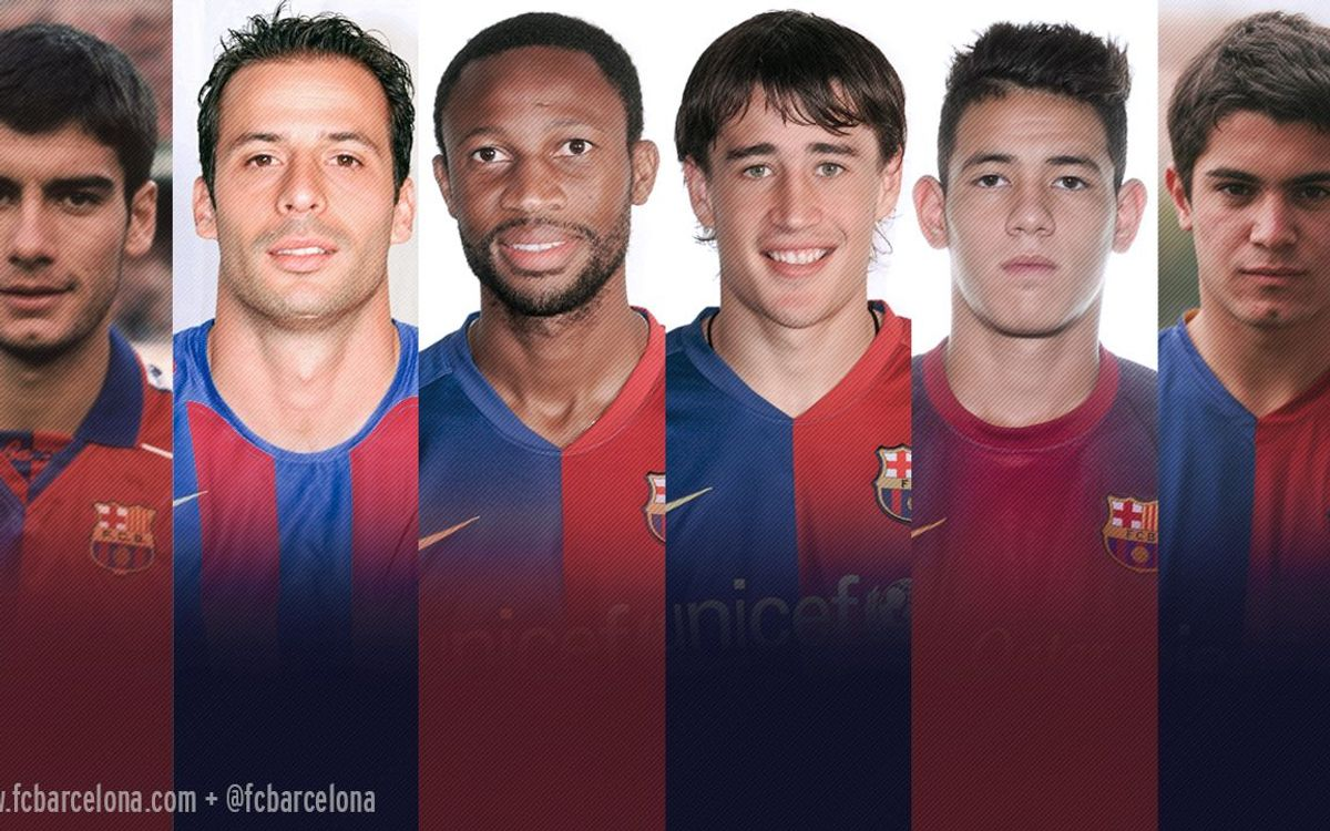 Six have played for both FC Barcelona and AS Roma