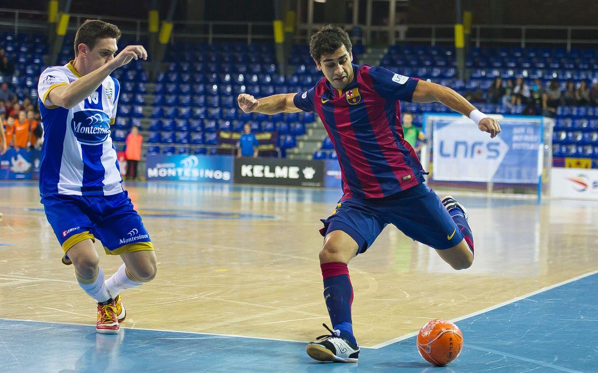 Jumilla - FC Barcelona: Guanyar per ser segons