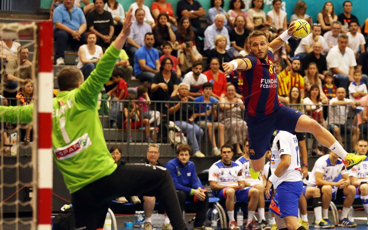 Granollers v FC Barcelona: Sixtieth win in a row (29-34)