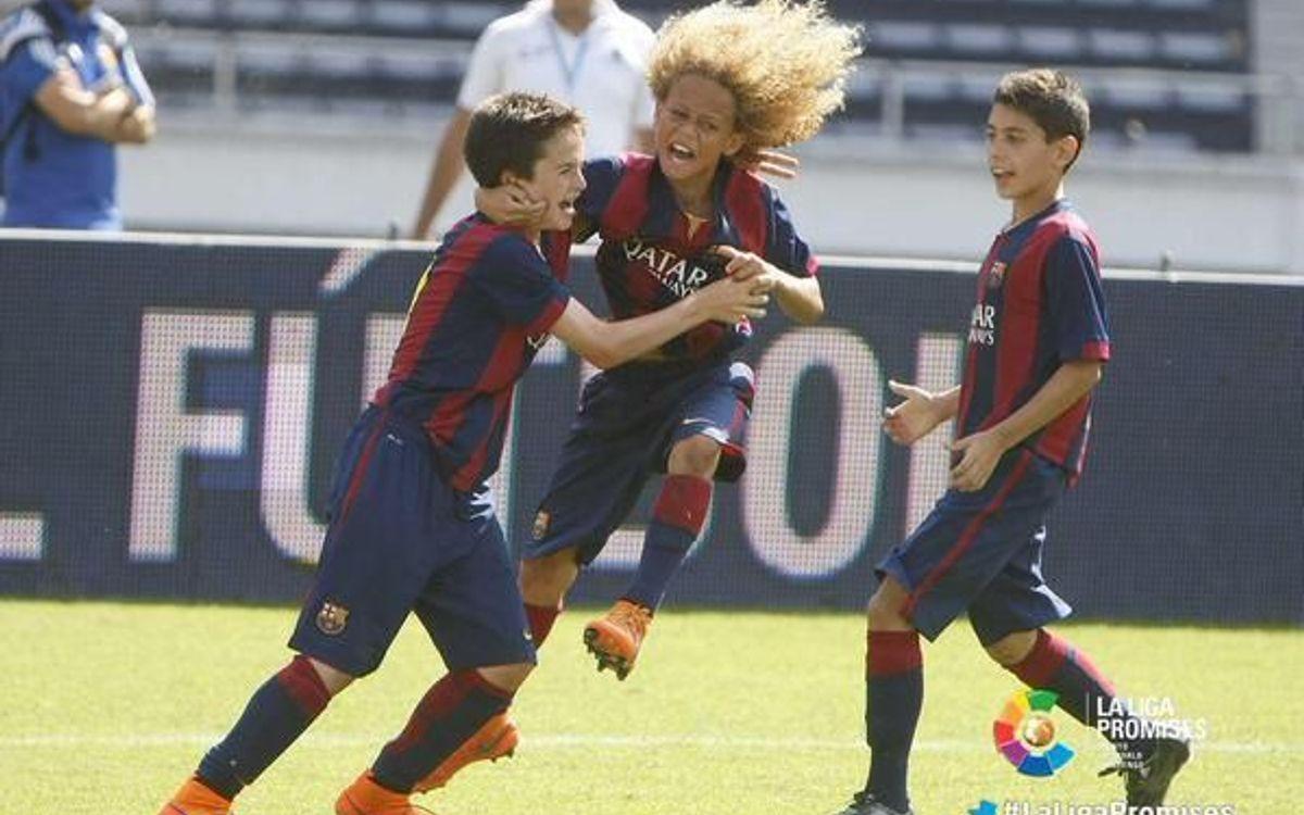 L'Aleví A s'imposa en el torneig internacional La Liga Promises