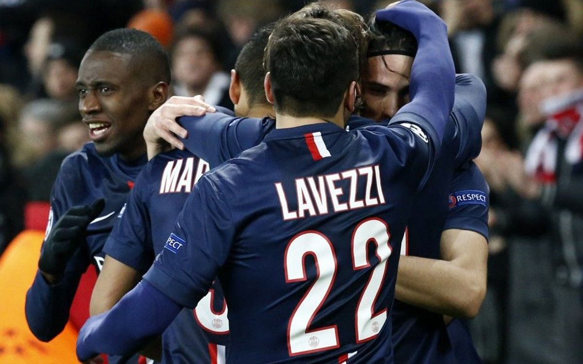 Paris Saint-Germain's road to the quarter-finals of the UEFA Champions League