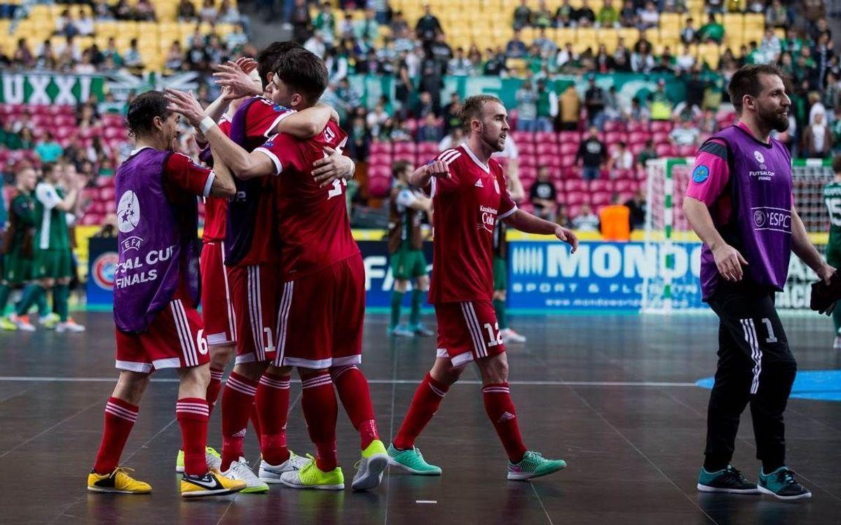El Kairat Almaty, el rival a la final de la UEFA Futsal Cup