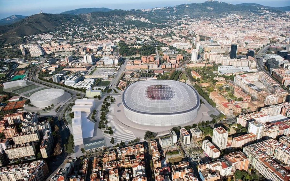 The first phase of the architectural contest for the New Camp Nou and the New Palau is now complete