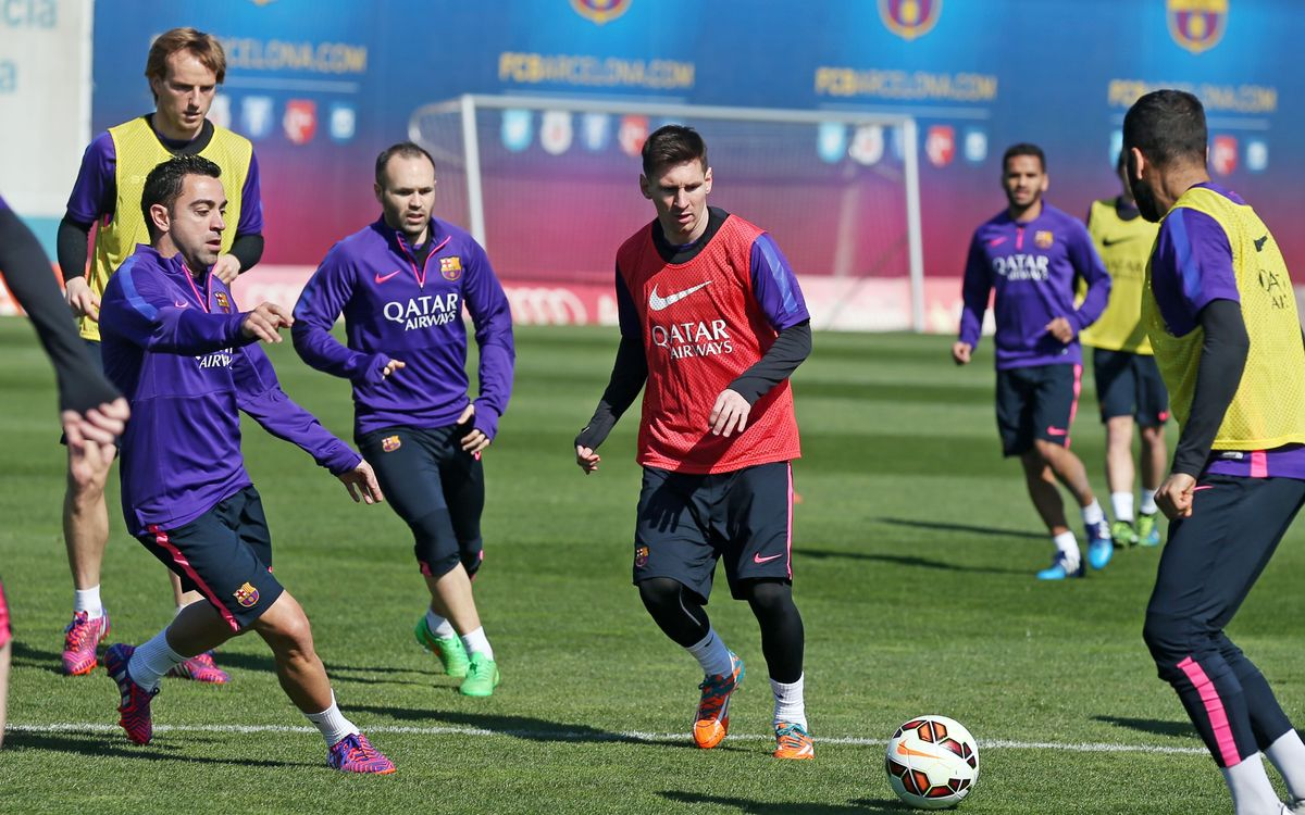 LIVE – FC Barcelona last training session before the Clásico
