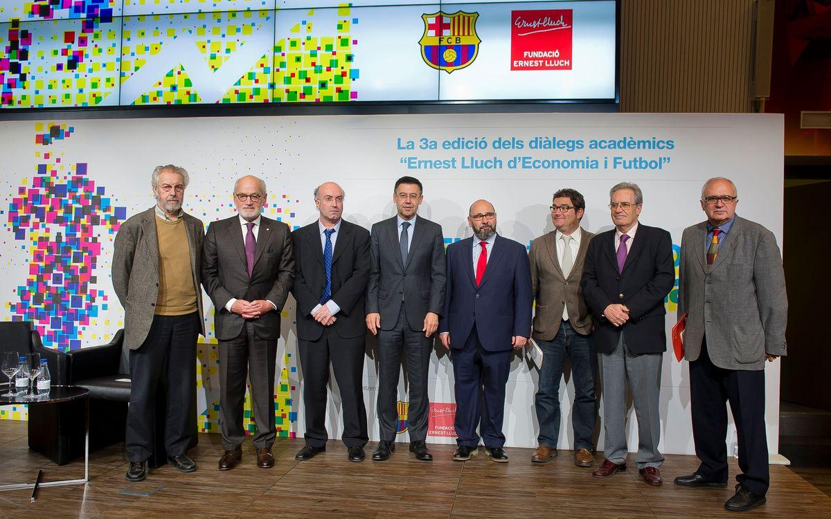 III Edició dels Diàlegs Acadèmics 'Ernest Lluch d'Economia i Futbol'