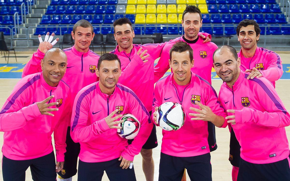 La quarta Final a Quatre de la UEFA Futsal Cup per a vuit culers