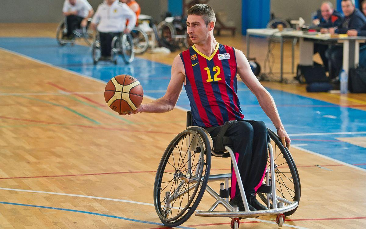 El Barça de bàsquet en cadira de rodes busca l'ascens a la Divisió d'Honor