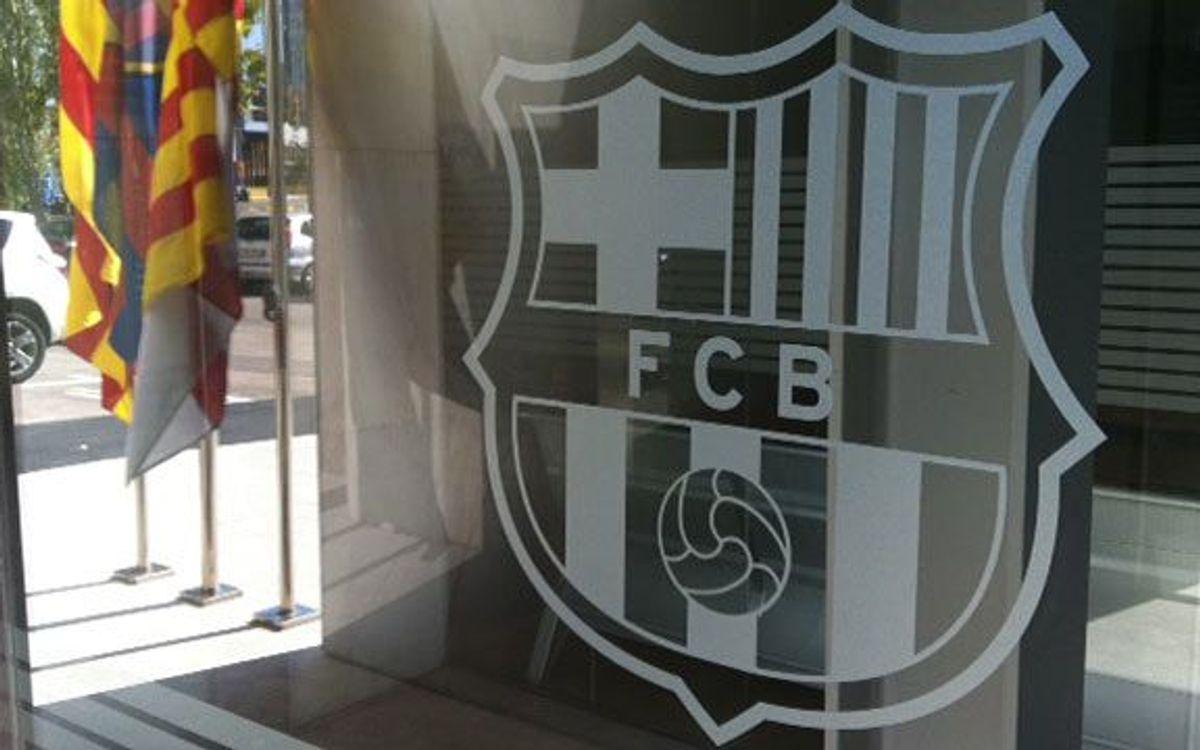 Comunicat del FC Barcelona sobre el retorn de Berlín dels socis