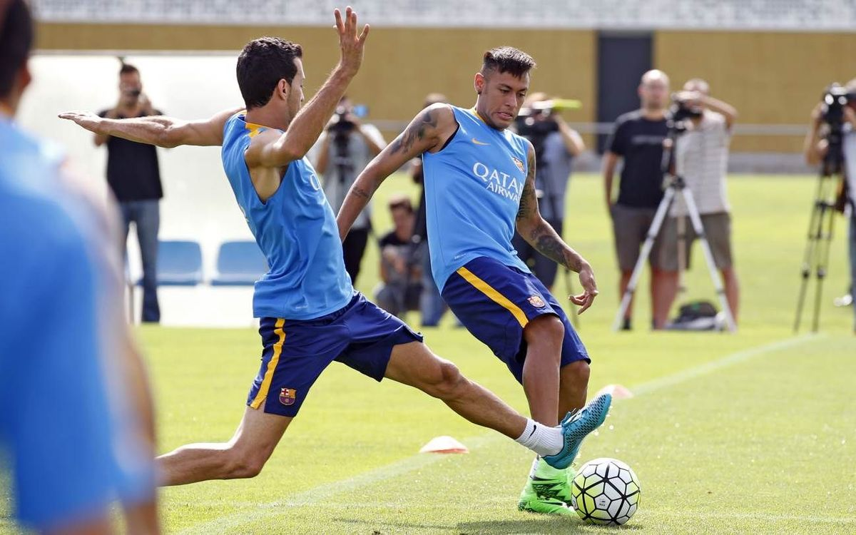 Neymar Jr and Sergio Busquets fully fit for Málaga