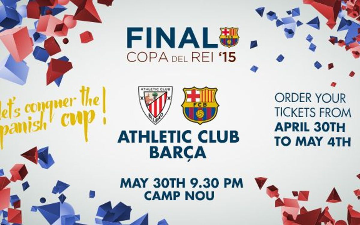 Copa del Rey Final: tickets from April 30