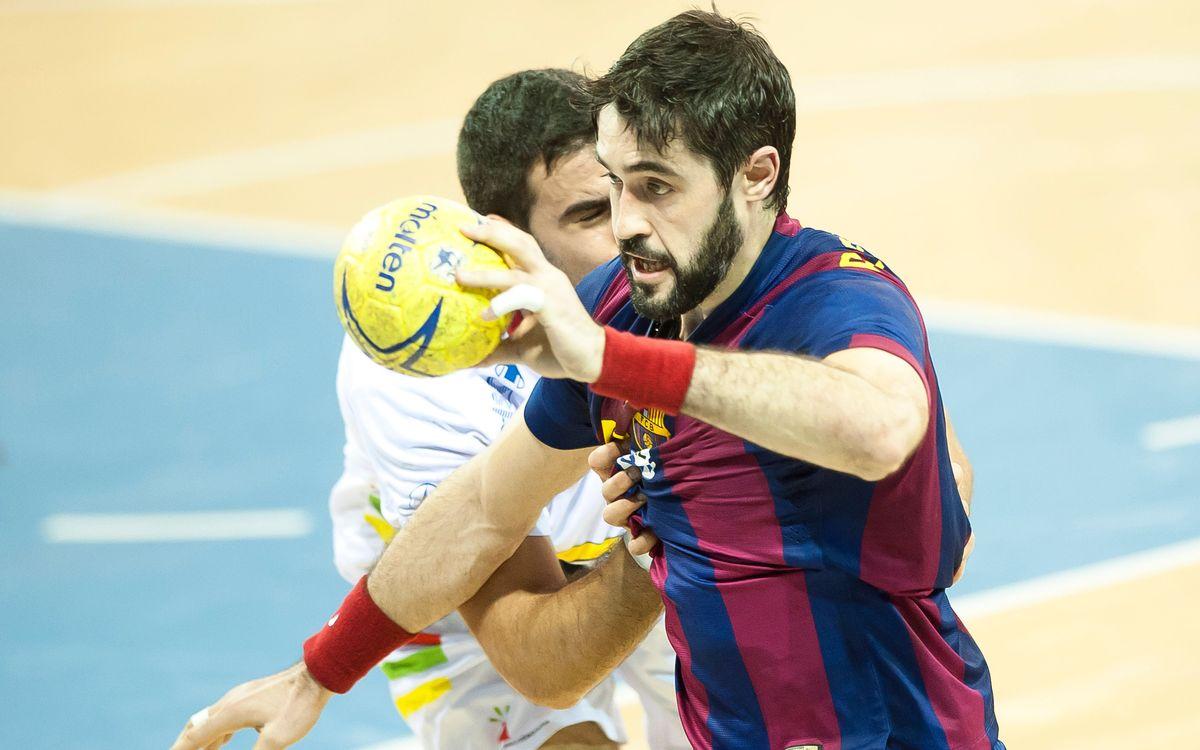 Barça d'handbol: La Lliga passa per Zamora