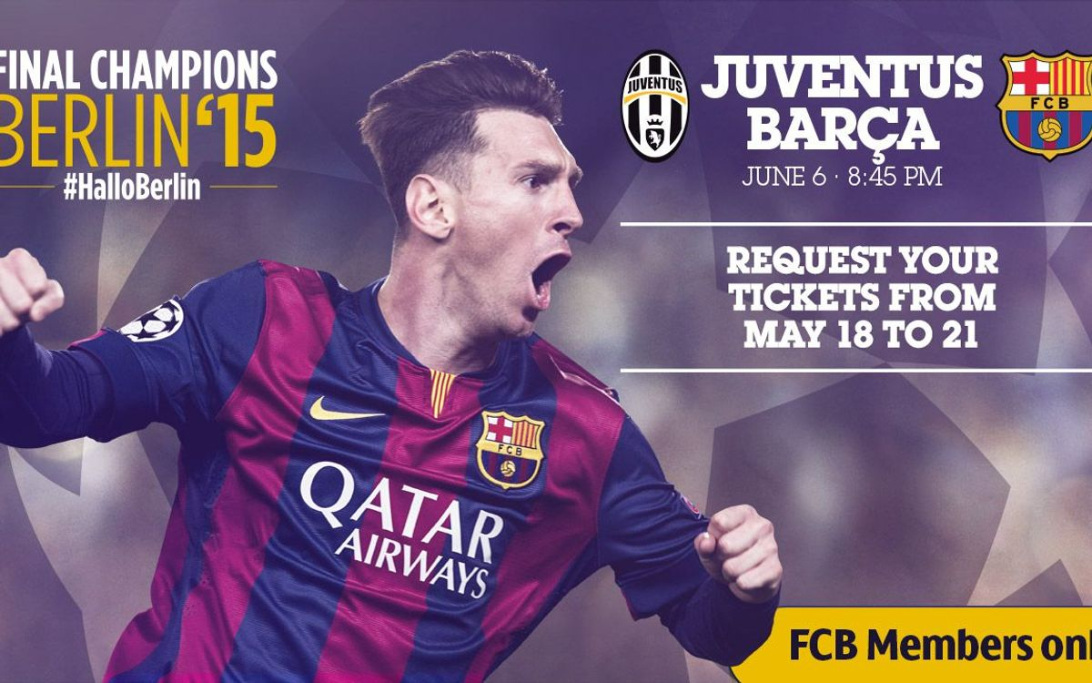 Applications for Champions League Final tickets open on Monday 18 May