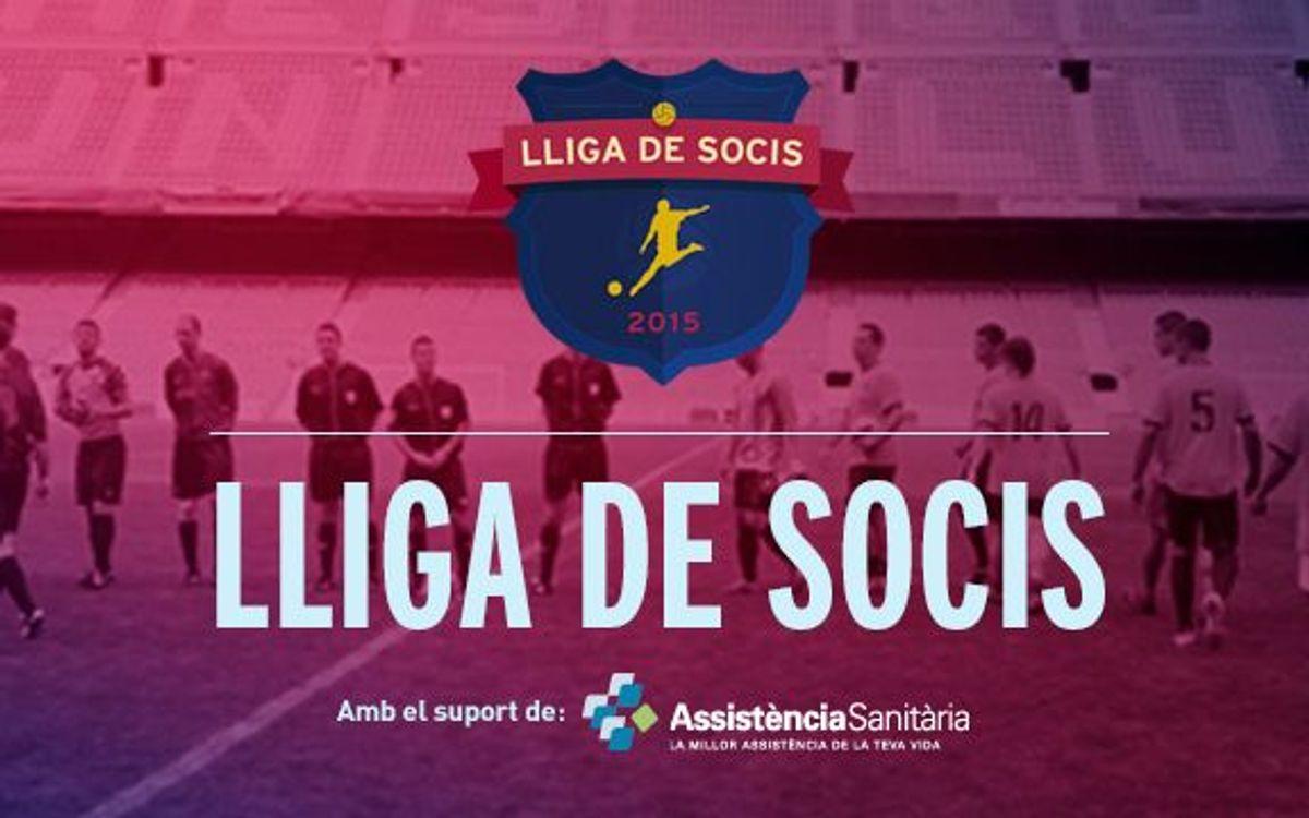 S'obren les inscripcions per a la Lliga de Futbol per a socis 2015