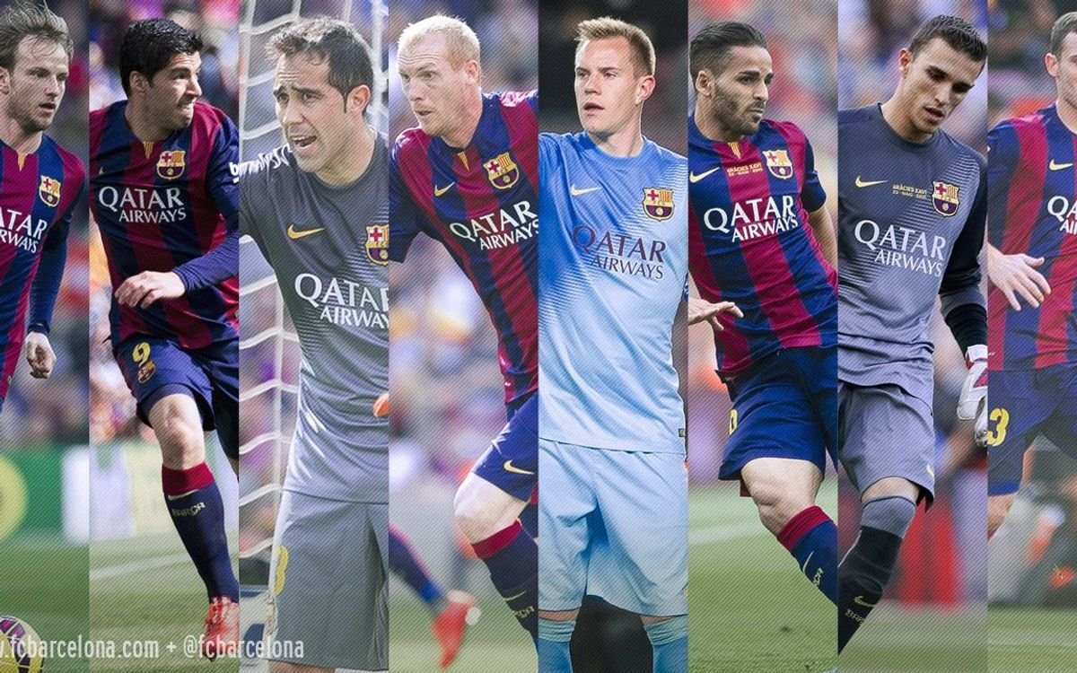 Fourteen players made FC Barcelona debuts for Luis Enrique