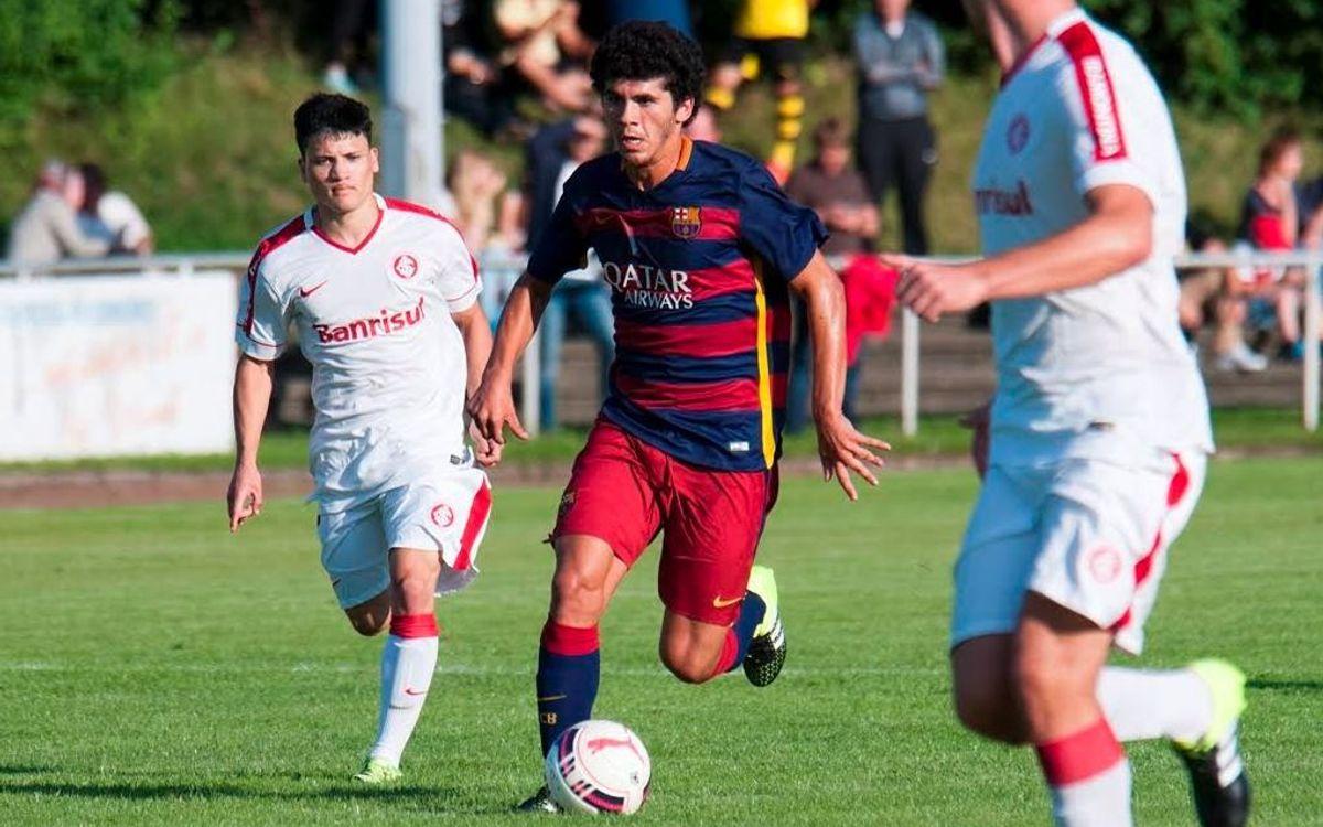 El Juvenil A finalitza l'Evonik Ruhr Cup International