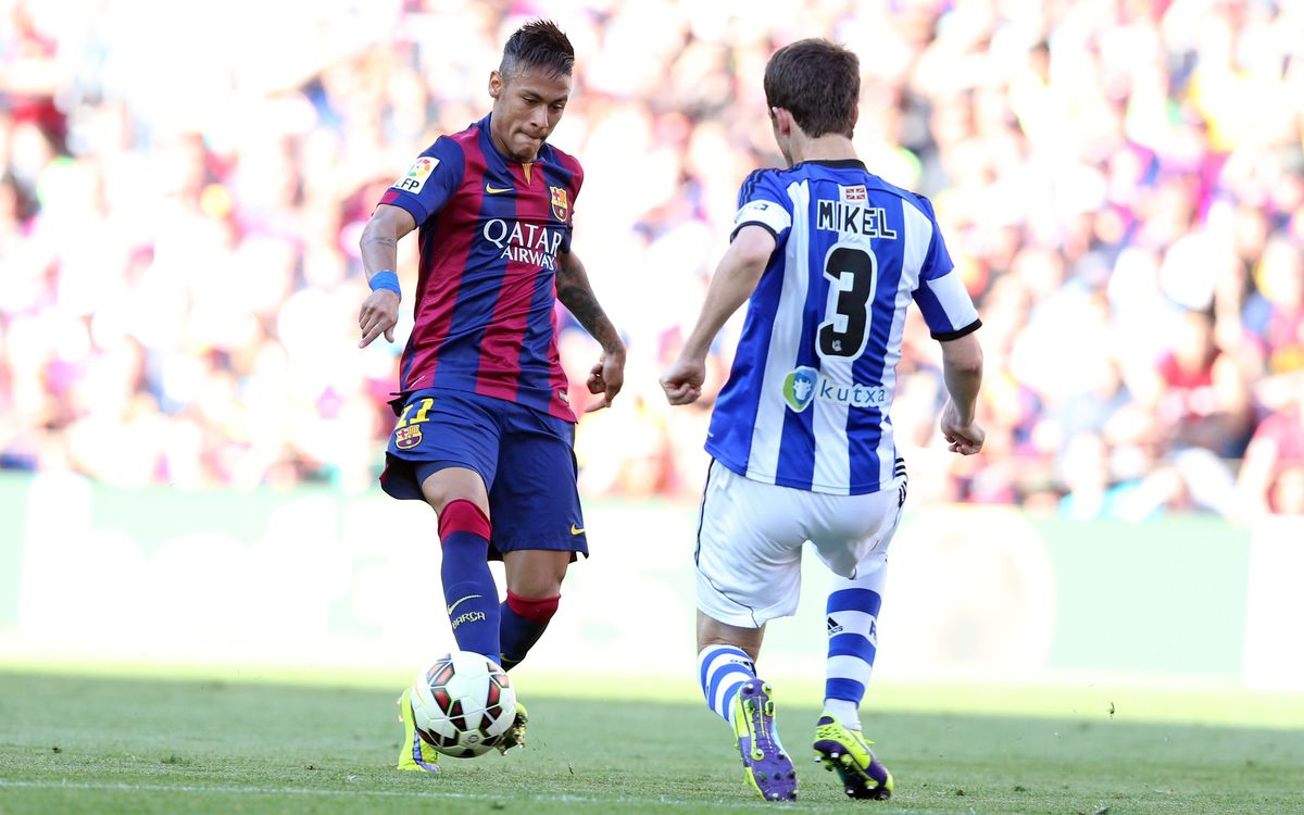 Neymar reaches 50 goals for FC Barcelona