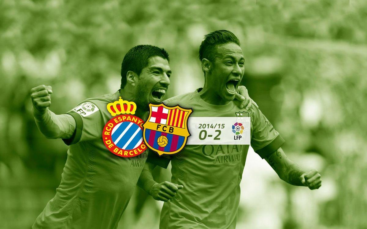 RCD Espanyol: 0 - FC Barcelona: 2