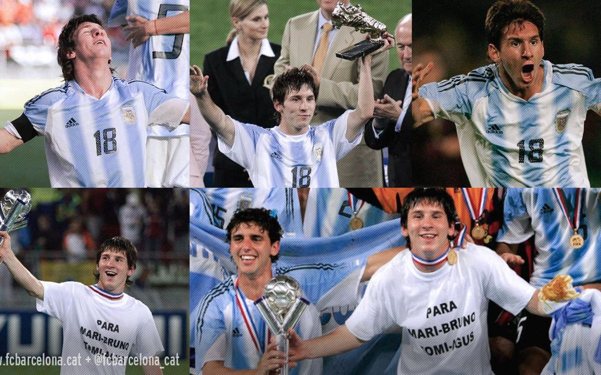 10 years since Argentina and Leo Messi won U20 World Cup