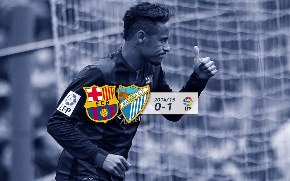 FC Barcelona: 0 - Málaga: 1