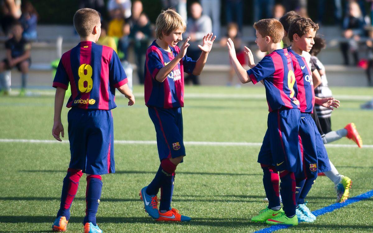 Dotze victòries al futbol formatiu