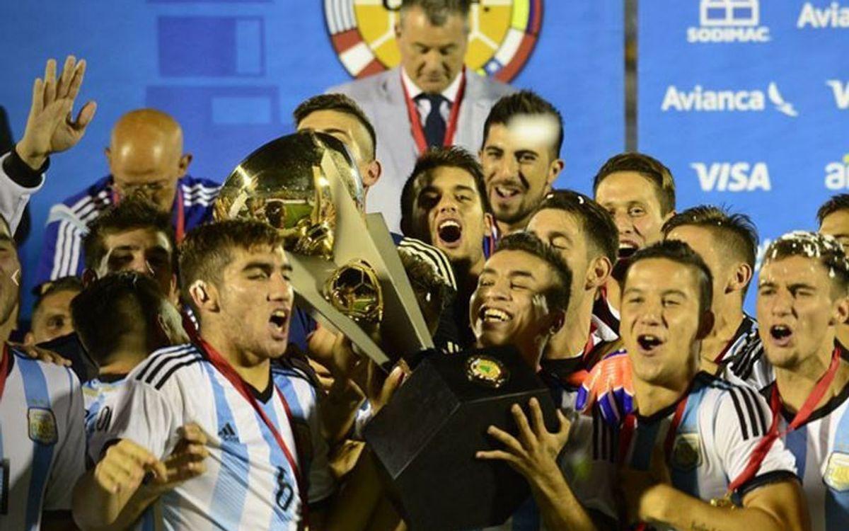Maxi Rolón, campió del sud-americà sub-20 amb l'Argentina