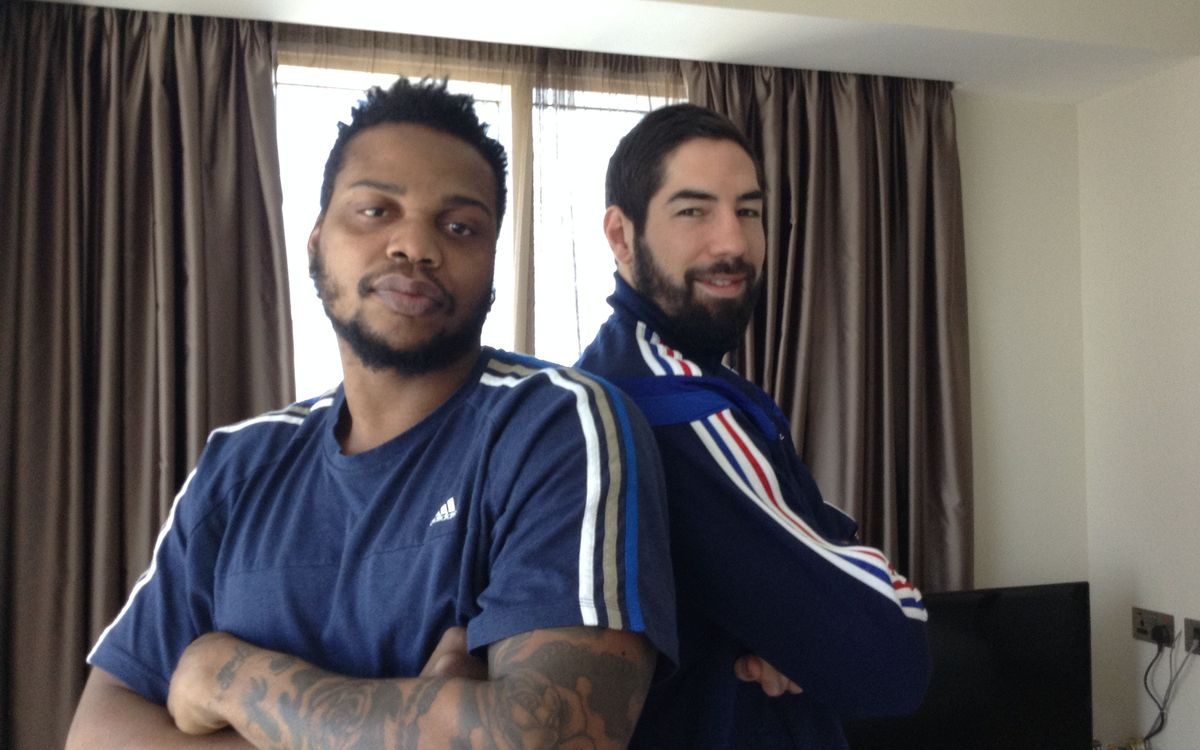 Nikola Karabatic and Cedric Sorhaindo: FC Barcelona and France
