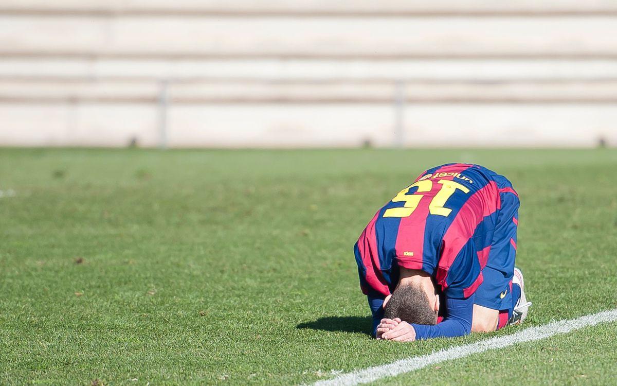 FC Barcelona – CF Badalona: Derrota a pilota aturada (1-2)