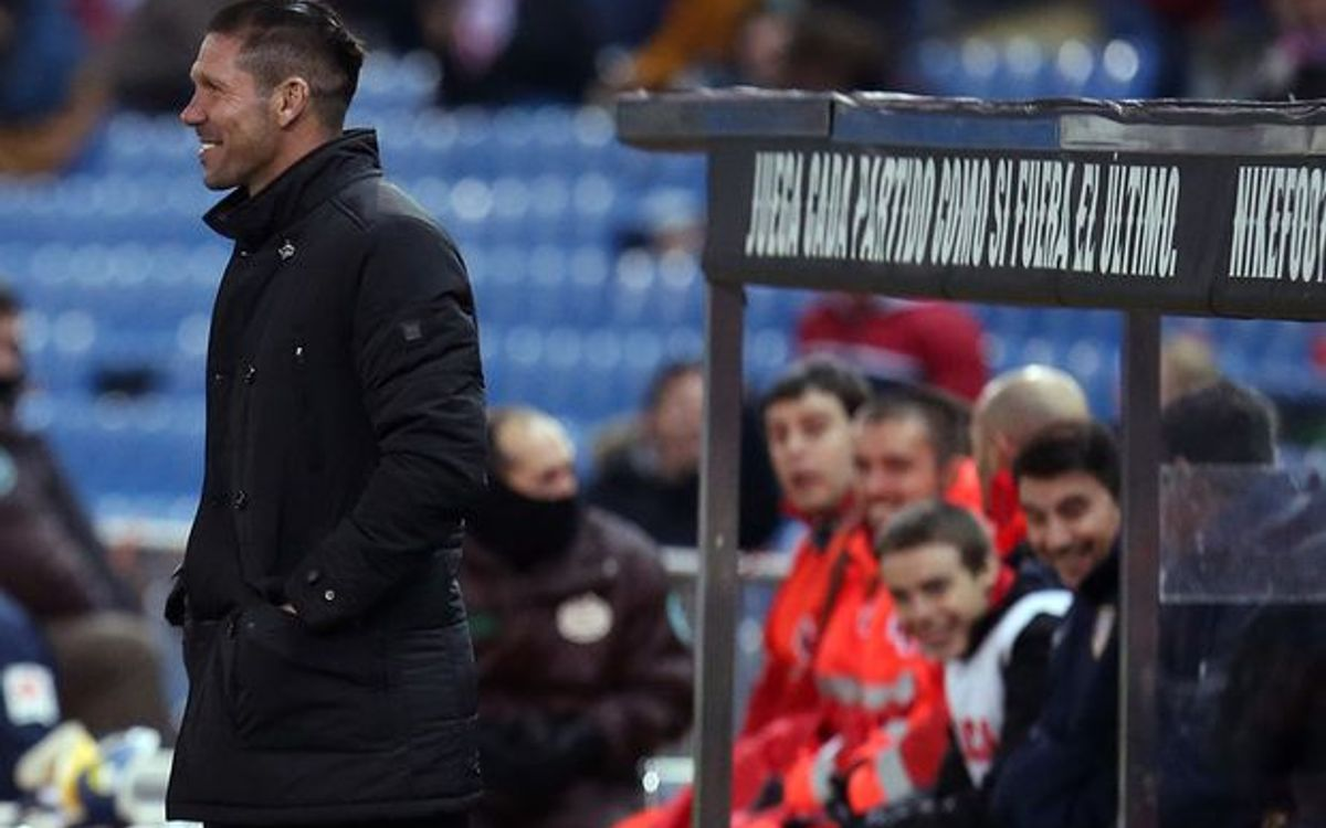 Diego Simeone: We are up against an FC Barcelona in form at the moment