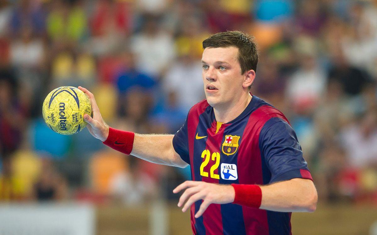 Els jugadors del Barça d'handbol al Mundial 2015