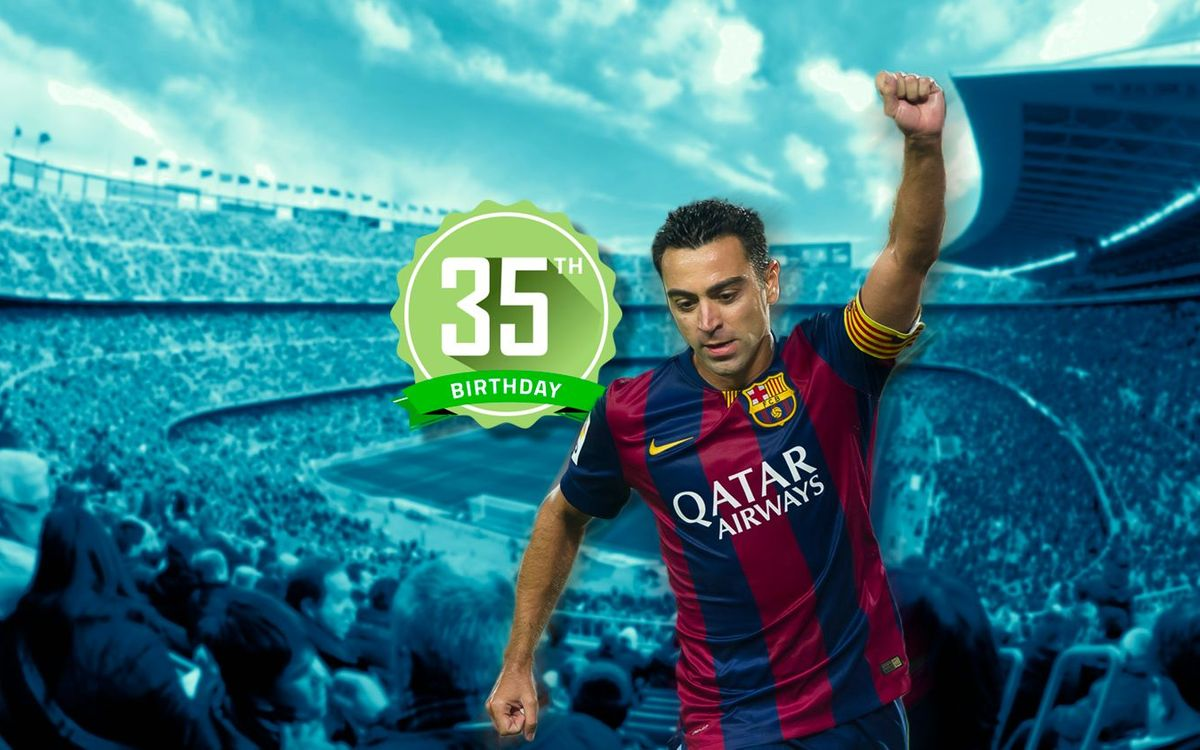 TOP5: Xavi's five best goals