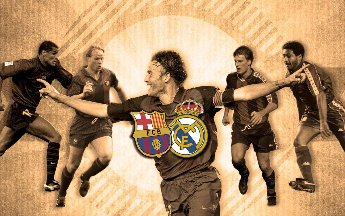 TOP5: Millors gols del Clàssic al Camp Nou (Vintage)