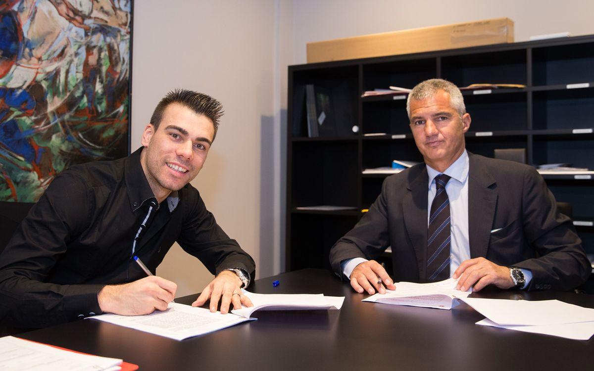 El FC Barcelona s'assegurarà Sergio Lozano fins al 2021