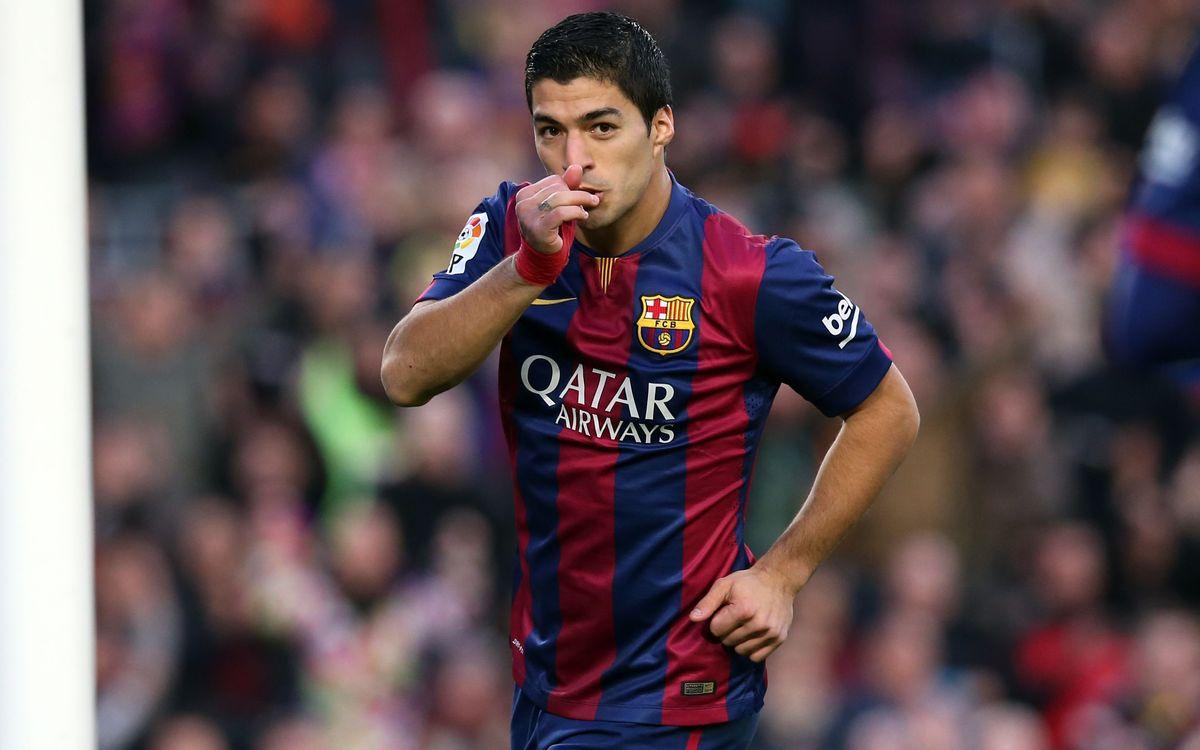 Luis Suárez top goalscorer for the IFFHS