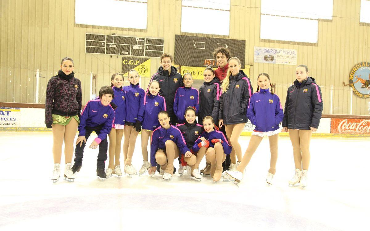 Bon paper de la secció de patinatge a la Lliga Catalana