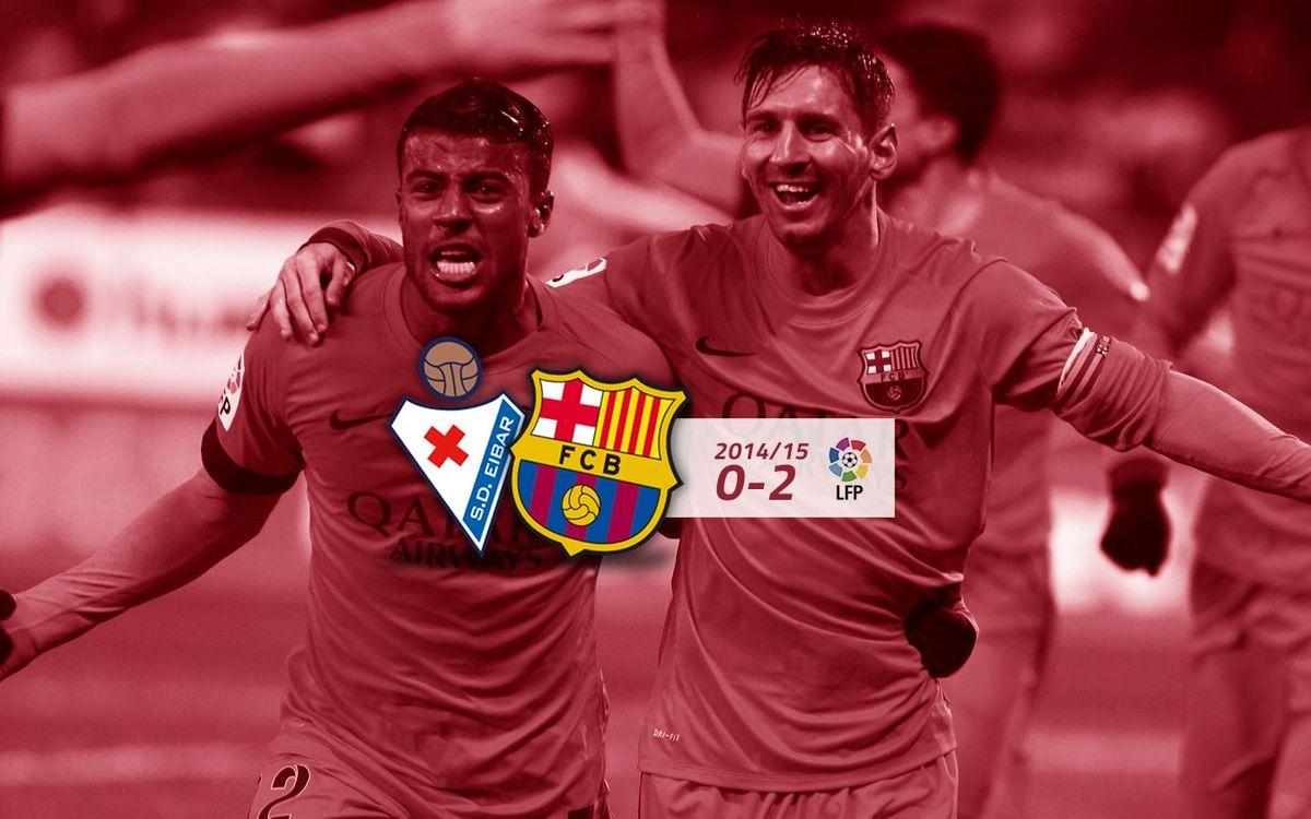SD Eibar: 0 - FC Barcelona: 2