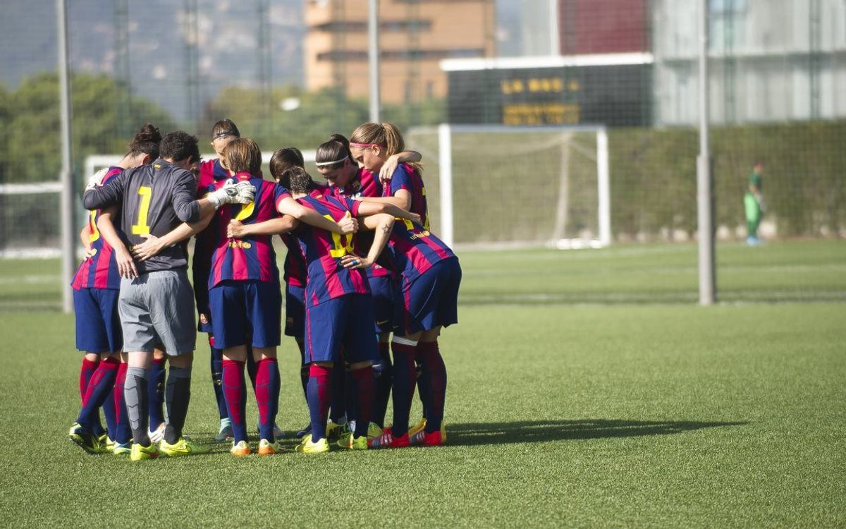 FC Barcelona v Sant Gabriel: Fine display from leaders (5-0)