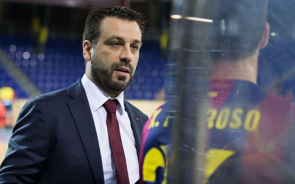 "Ricard Muñoz: ""El Valdagno té un potencial ofensiu molt important"""