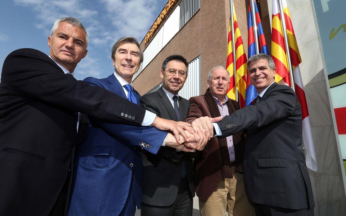 Rexach, membre de la Comissió Tècnica de l'Àrea de Futbol del Barça