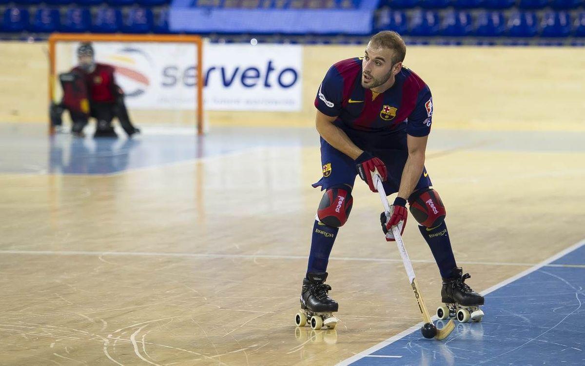 FC Barcelona beat Tordera 1–0 on a last-minute goal