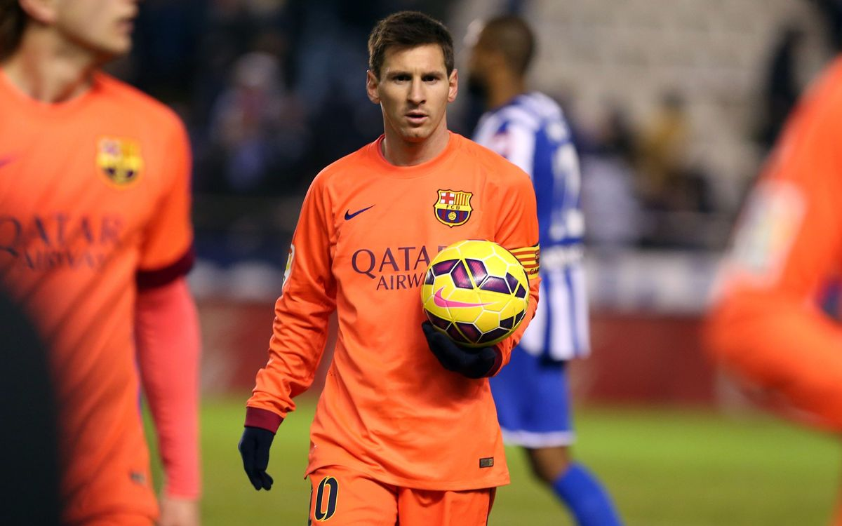 Leo Messi gets 30th hat-trick