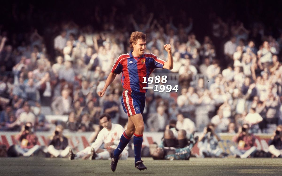 Tots els gols de... Julio Salinas