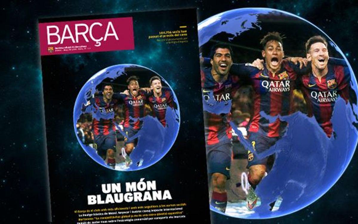 El Barça global, a la REVISTA BARÇA