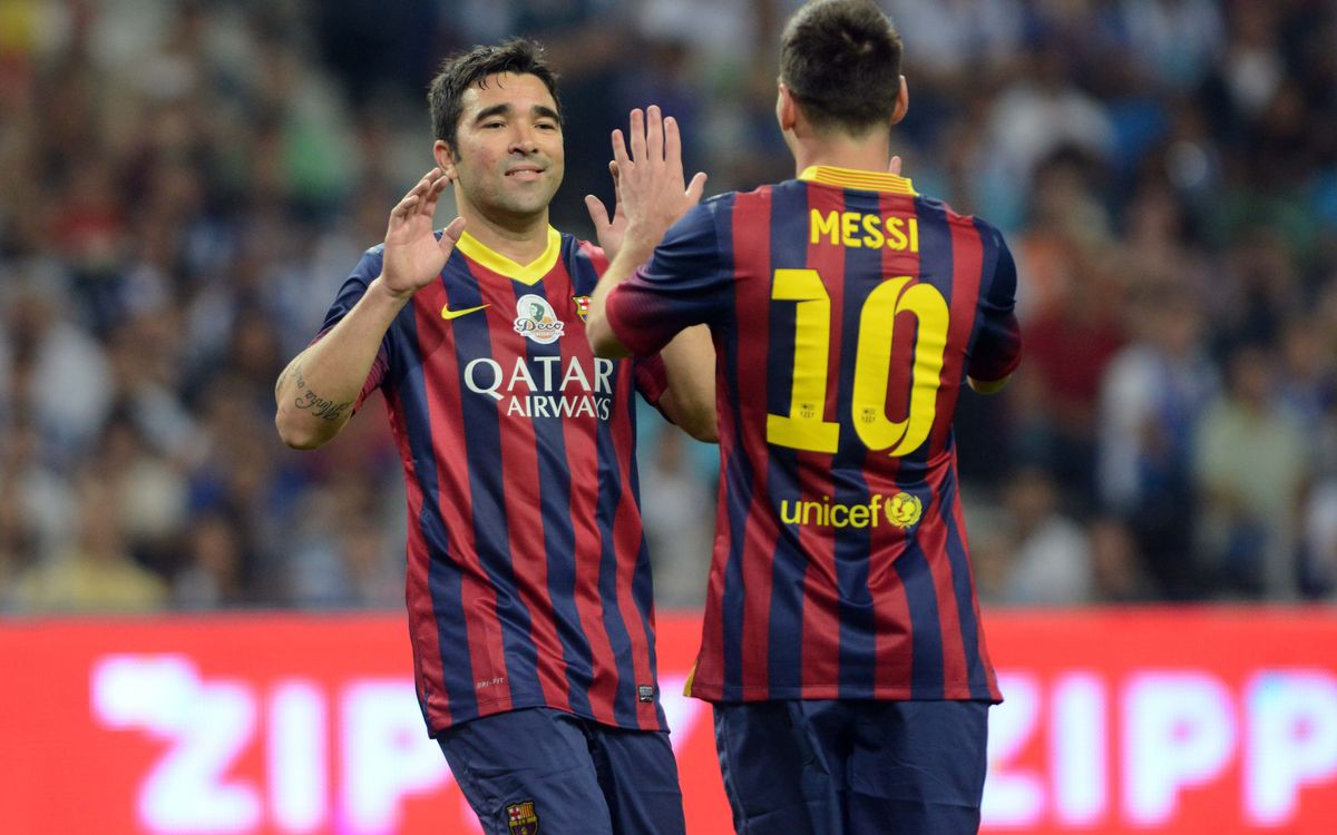 FC Barcelona well represented at Deco testimonial