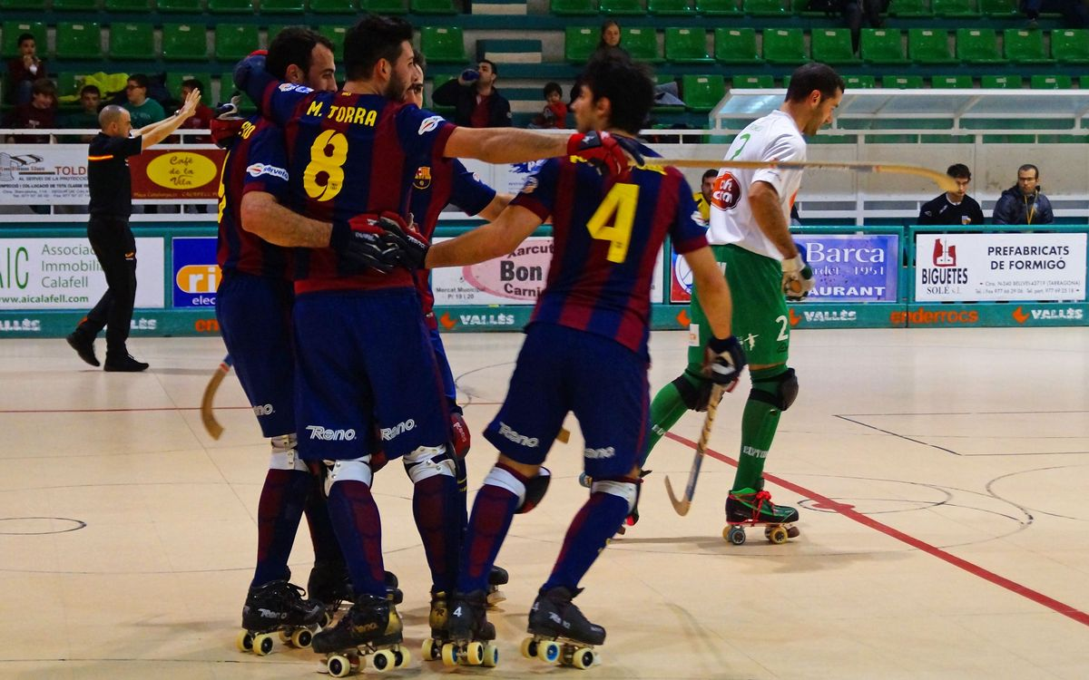 CP Calafell Tot l'Any v FC Barcelona: Big win before Lisbon (0-8)