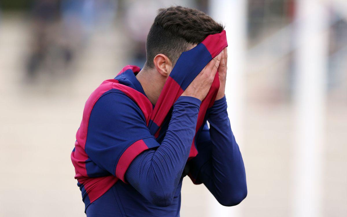 FC Barcelona-Damm: Derrota per la mínima (0-1)
