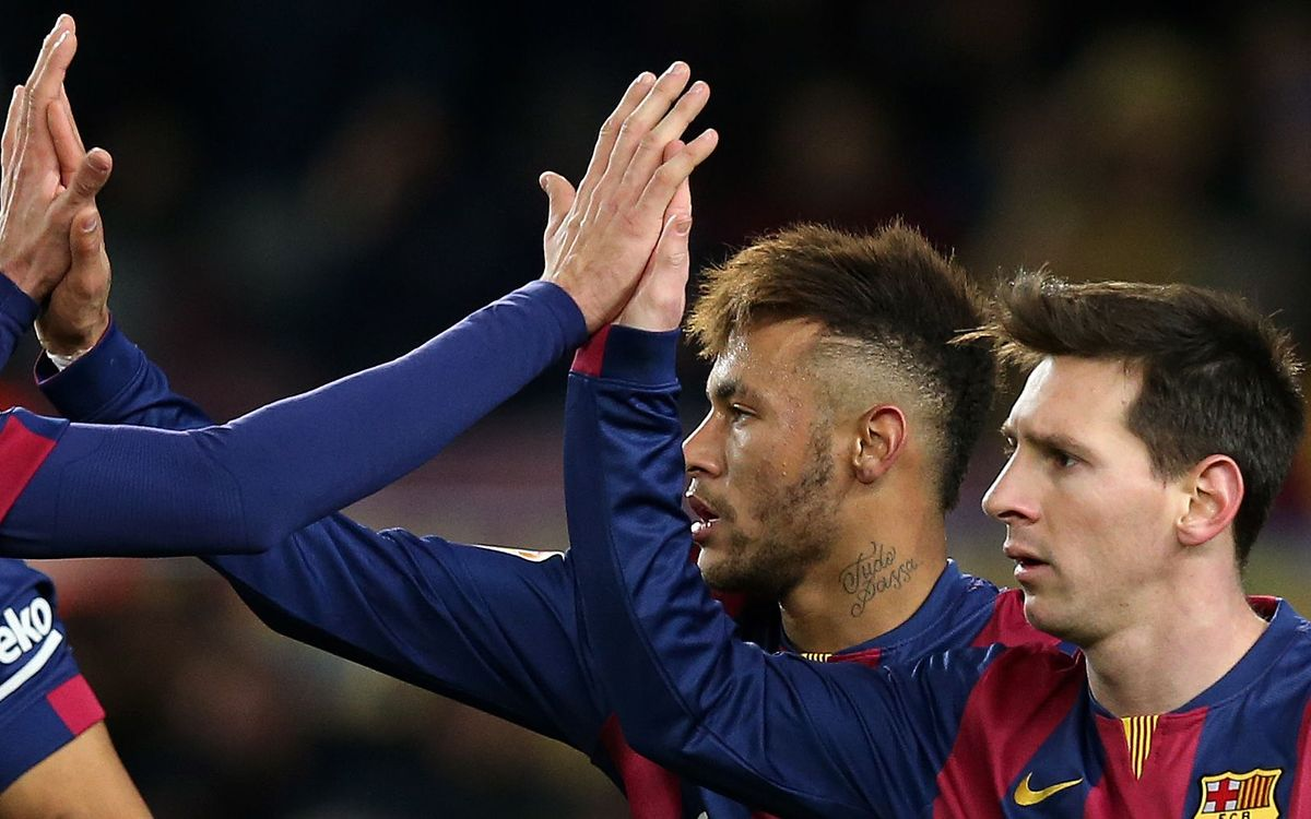 Messi and Neymar - double trouble