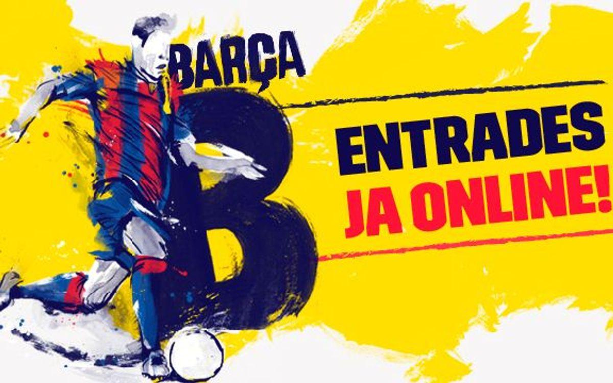 Compra 'on-line' les entrades del Barça B al Miniestadi