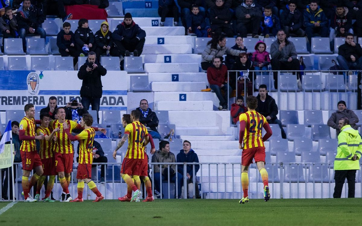 FC Barcelona B get back on track with 4–1 win at Sabadell